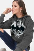 Moletom Feminino Batman Logo The Dark Knight