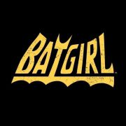 Moletom Preto Batgirl Logo