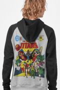 Moletom Raglan The Teen Titans