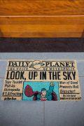 Capacho Superman Newspaper