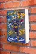 Porta Chaves com Porta Batgirl