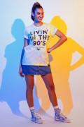 T-shirt Feminina Mulher Maravilha 1984 Livin in The 80's