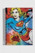 Caderno Power Girls Supergirl 1 Matéria