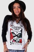 Camiseta Raglan Feminina Harley Quinn You´re The Problem
