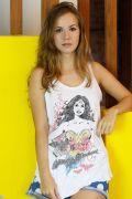 Regata Premium Feminina Wonder Woman Picture