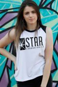 Regata Feminina The Flash Serie STAR Laboratories