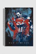 Caderno Superman Man of Steel Power 1 Matéria
