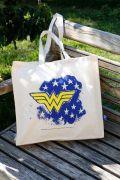 Ecobag Wonder Woman Star