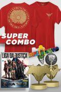 Super Combo Fan Box DC Comics com Camiseta
