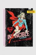 Caderno Invencible Supergirl 10 Matérias
