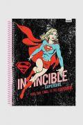 Caderno Invencible Supergirl 1 Matéria