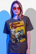 T-shirt Femina Mulher Maravilha Wonder Woman Nº 1