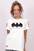 T-shirt Feminina Batman O Mundo Oriente