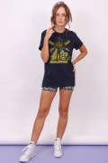 T-shirt Feminina Esquadrão Suicida Bloodsport