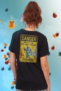 T-shirt Feminina Esquadrão Suicida King Shark Danger