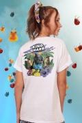 T-shirt Feminina Esquadrão Suicida King Shark Island