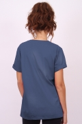 T-shirt Feminina Esquadrão Suicida Peacemaker
