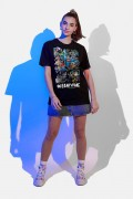 T-shirt Feminina Fandome Jim Lee Superman