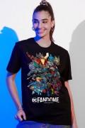 T-shirt Feminina Fandome Jim Lee Universo