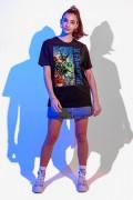 T-shirt Feminina Fandome Liga da Justiça