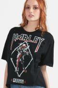 T-Shirt Feminina Harley Quinn Red