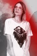 T-shirt Feminina Liga da Justiça Snyder Cut - Darkseid vs League
