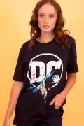 T-shirt Feminina Logo DC Batman