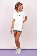 T-shirt Feminina Mini Logos Love