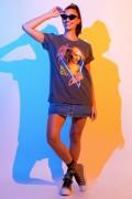 T-shirt Feminina Mulher Maravilha 1984 Cheetah Foto