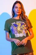 T-shirt Feminina Mulher Maravilha 1984 The Cheetah 1984