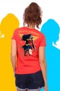 T-shirt Feminina Mulher Maravilha Believe In Wonder