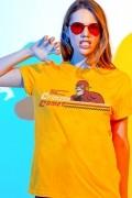 T-shirt Feminina The Flash The Crimson Come