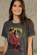 T-shirt Premium Feminina Jovens Titãs Robin