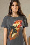 T-shirt Premium Feminina Shazam Tawky Tawny