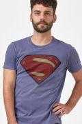 T-shirt Premium Masculina Batman VS Superman Logo Superman
