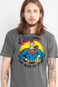 T-shirt Premium Masculina Superman Vintage II