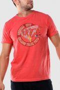 T-shirt Premium Masculina The Flash College Track Team