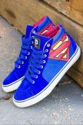 Tênis Cano Alto DC Comics Superman