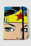 Caderneta de Anotações Mulher Maravilha Face