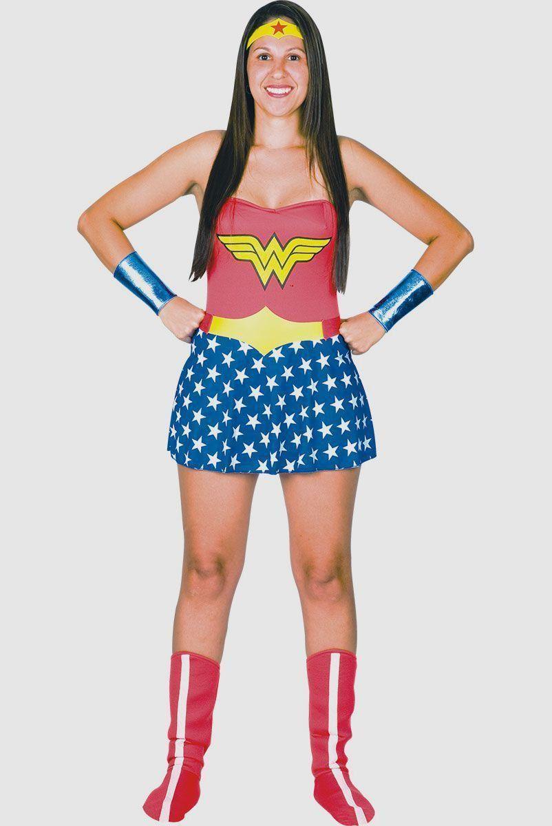 Fantasia Adulta Wonder Woman