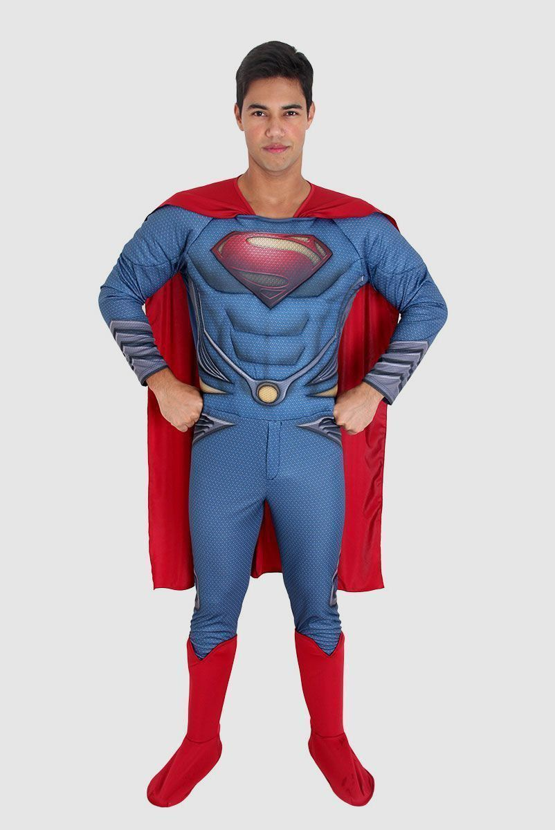 Fantasia Batman VS Superman Superman Adulto