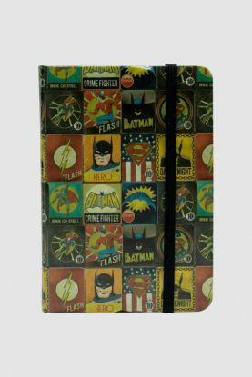 Caderneta de Anotação DC Vintage Logos  A6