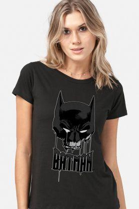 Camiseta Feminina Batman Caveira