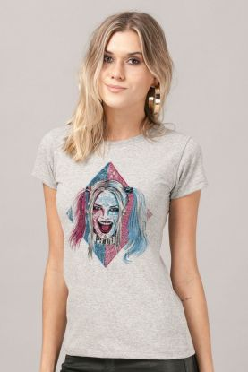 68280aab9c Camiseta Feminina Esquadrão Suicida Harley Quinn Puddin