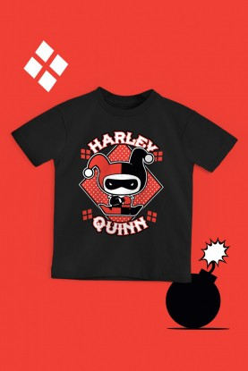 Camiseta Infantil Harley Quinn Angry