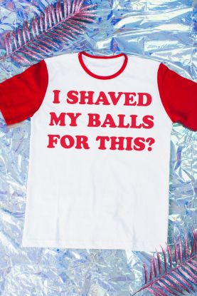 Camiseta Masculina Birds of Prey I Shaved My Balls for This? - Aves de Rapina