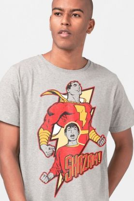 Camiseta Masculina Shazam Hero