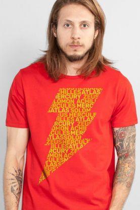 Camiseta Masculina Shazam Thunder