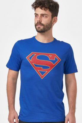 Camiseta Masculina Supergirl Logo