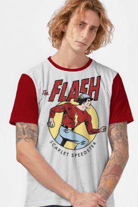 Camiseta Masculina The Flash Vintage